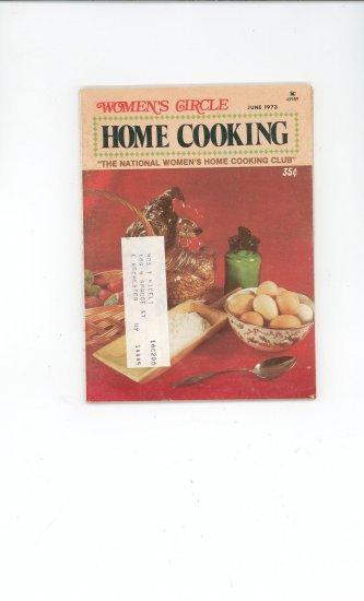 Womens Circle Home Cooking Cookbook Vintage June 1973