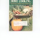 Womens Circle Home Cooking Cookbook Vintage October 1973