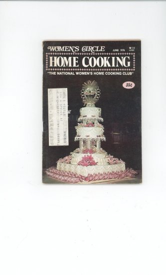 Womens Circle Home Cooking Cookbook Vintage June  1974
