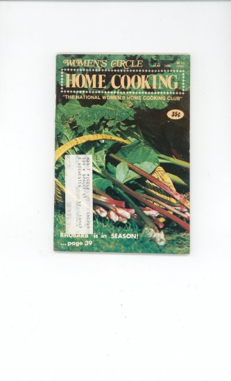 Womens Circle Home Cooking Cookbook Vintage May  1974