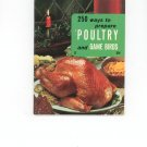 250 Ways To Prepare Poultry And Game Birds # 17 Vintage