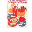 Mix Around With Cranberry Drinks Recipe Book