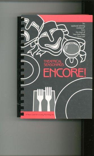 Theatrical Seasonings Encore Cookbook Regional New York Stage Guild 0961233001