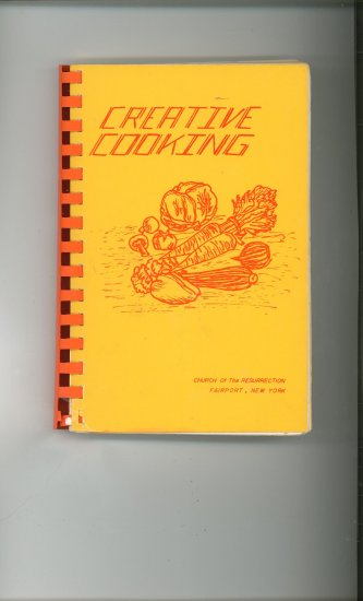Creative Cooking Cookbook Regional New York Church Of The Resurrection