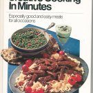 Pillsburys Creative Cooking In Minutes Cookbook Vintage Compliments Disabled American Vetrans