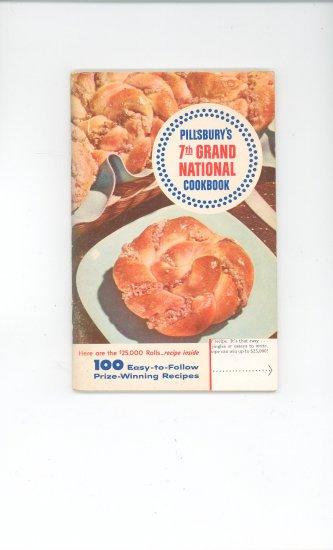 Pillsbury 7th Grand National Cookbook Vintage 1955