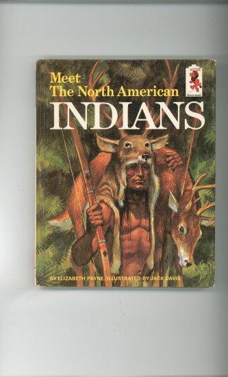 Meet The North American Indians by Elizabeth Payne Childrens Book Vintage