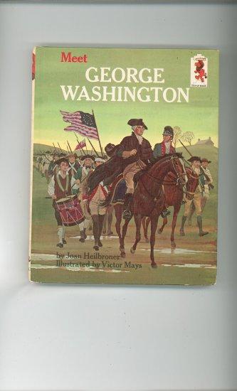 Meet George Washington by Victor Mays Childrens Book Vintage