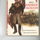 Meet Andrew Jackson by Ormonde De Kay Jr. Childrens Book Vintage