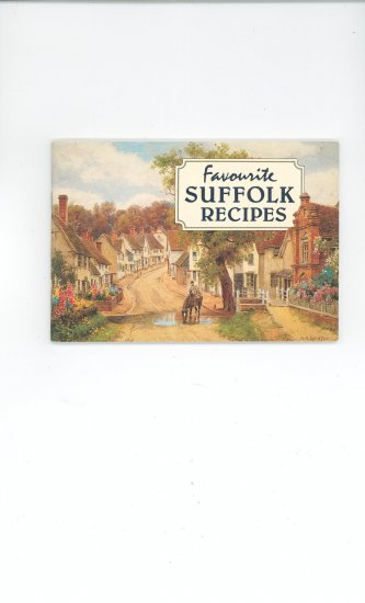 Favourite Suffolk Recipes Cookbook 189843509x