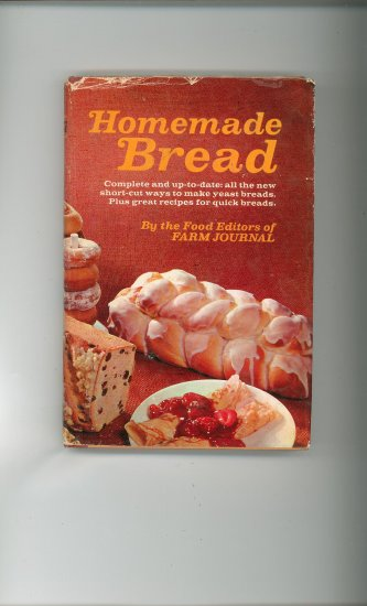 Homemade Bread Cookbook by Editors Farm Journal Vintage