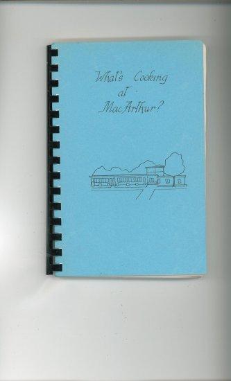 Whats Cooking At MacArthur Cookbook Regional Virginia School
