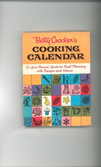 Betty Crockers Cooking Calendar Cookbook Plus Vintage