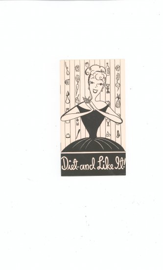 Diet And Like It  Book Vintage