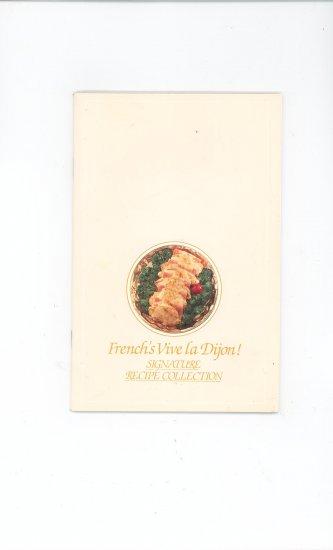 French's Vive la Dijon Signature Recipe Collection Cookbook
