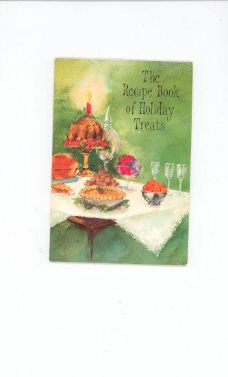 The Recipe Book Of Holiday Treats Cookbook by Hallmark