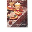 Casual Cookery Dairy Food Recipes Cookbook by American Dairy Association