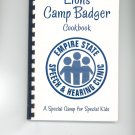 Lions Camp Badger Cookbook Regional New York Speech & Hearing