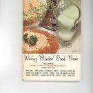 Waring Blender Cook Book Cookbook / Manual Plus Vintage