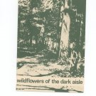 Wildflowers Of The Dark Aisle Regional Syracuse New York Garden Club