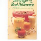 Beverages With The Real Difference Cookbook by Borden