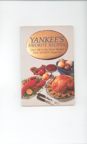 Yankees Favorite Recipes  Cookbook