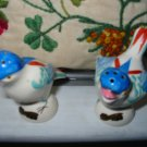 Bird Souvenir Montreal Salt And Pepper Shakers Vintage
