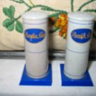Pyrofax Gas Salt And Pepper Shakers Vintage