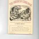 The American Cider Book Cookbook Plus by Vrest Orton 0374510768