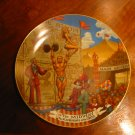 The Midway Ringling Brothers Barnum Bailey Circus Collector Plate With Certificate