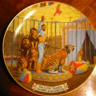 The Lion Tamer Ringling Brothers Barnum Bailey Circus Collector Plate With Certificate