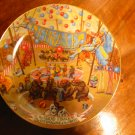 The Grand Finale Ringling Brothers Barnum Bailey Circus Collector Plate With Certificate