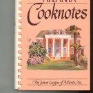 Atlanta Cooknotes Cookbook by Junior League of Atlanta 0960791426