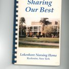 Sharing Our Best Cookbook Regional Lakeshore Nursing Home Rochester New York