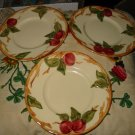 Lot Of 3 Franciscan Bread And Butter Plates 19927 30 Hand Decorated
