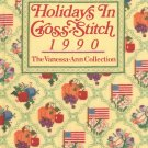 Holidays In Cross Stitch 1990 The Vanessa Ann Collection 0848707516