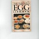 The Fabulous Egg Cookbook by Jeffrey Feinman  Vintage