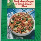 Green Giant Rush Hour Recipes & Quick Dinner Ideas Cookbook
