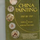 China Painting by Doris W. Taylor & Anne Button Hart Vintage 6820912