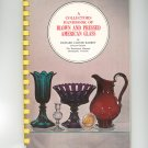Collectors Handbook Blown & Pressed American Glass Richard Carter Barret Vintage