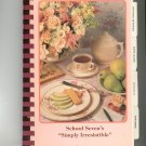 School Sevens Simply Irresistible Cookbook Regional Community New Jersey