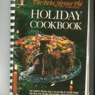 Beta Sigma Phi International Holiday Cookbook 79157863