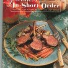 Gourmet In Short Order Cookbook 0679427457