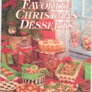 Ideals Favorite Christmas Desserts Cookbook 0824950097