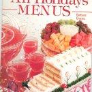 Ideals All Holidays Menus Cookbook by Barbara Grunes 082493041x