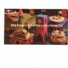 Betty Crockers Festive Fixins With A Foreign Flair Cookbook / Pamphlet Vintage