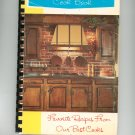 Favorite Recipes From Our Favorite Cooks Cookbook Regional Community Church New York Vintage