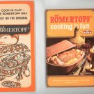 Romertopf Cooking Is Fun Cookbook Plus Brochure 3870590874 Vintage