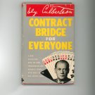 Contract Bridge For Everyone by Ely Culbertson Vintage