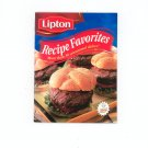 Lipton Recipe Favorites Cookbook